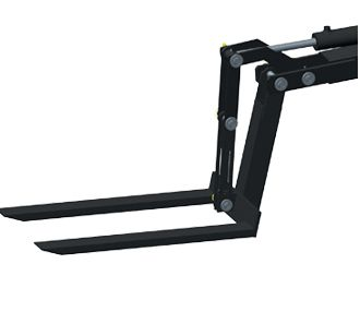 Handling fork and counterweight of 30 kg