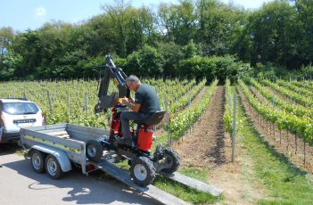 Smartpel in the Alsace vines
